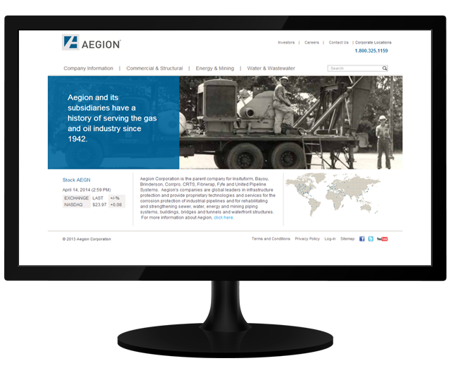 Aegion Corporation Sitecore Case Study